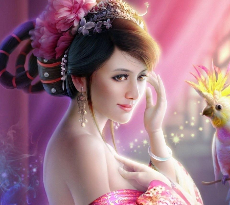 ... Beauty Wallpapers: Facebook profile pictures for girls with flowers